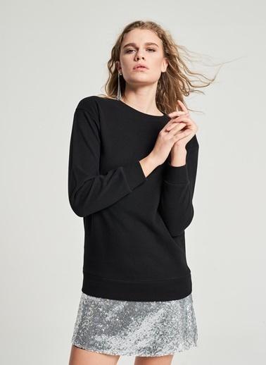 Pi π Payet Detaylı Elbise Siyah